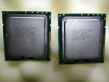 Intel Xeon L5640 Six Core 2.26GHz/12M/5.86 SLBV8 (Lot of 2) #TQ477