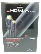 Audioquest Mini HDMI A  Mini HDMI to HDMI 0.75 meter Mini HDMI to standard HDMI