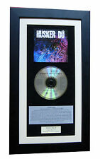 HUSKER DU Candy Apple Grey CLASSIC CD GALLERY QUALITY FRAMED+EXPRESS GLOBAL SHIP