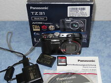 --   TOP Panasonic LUMIX DMC-TZ31 14,1 MP Digitalkamera - schwarz