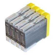 4x TINTE PATRONEN bk BROTHER LC-970 DCP 135c 150c 153c MFC 235c 260c 660cn 680cn
