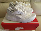 NIKE AIR HUARACHE TRIPLE WHITE PURE PLATINUM ALL SIZES 3-13 LIMITED EDITION NEW