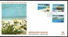 Dutch Antilles - 1976 Tourism Mi. 310-12 clean unaddressed FDC