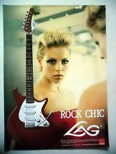 PUBLICITE-ADVERTISING :  Guitare LAG Jet  12/2005