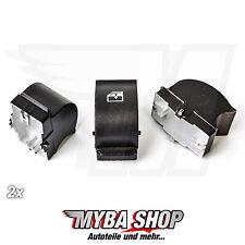 2x Fenster Heber Reparatur Knopf Schalter für Fiat Citroen Peugeot Links/Rechts