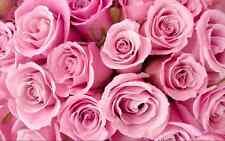 Rosas Flores Boutique impresión Cake Topper Comestibles De Oblea De Papel Completo hoja de tamaño A4