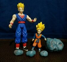 2003 Jakks Dragonball Z gt BROTHER VS GOTEN GOHAN COMPLETE FIGURE LOT rare