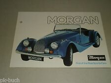 Auto Werbung Prospekt Morgan Sports Cars 4/4 und Plus 8