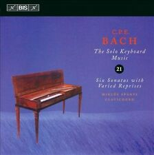C.P.E. Bach: The Solo Keyboard Music, Vol. 21, New Music