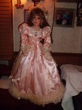 "Denise Mc. Millan 34"" tall porcelain doll Masterpiece Gallery free shipping"