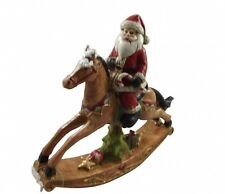 Gisela Graham Christmas Decoration Rocking Horse -Traditional Festive Decoration
