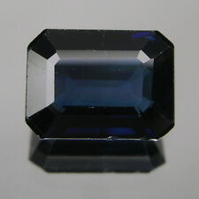 1.69ct Genuine BLUE Sapphire OCTAGON 1 Piece Loose Stone