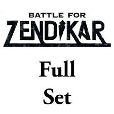 MTG FULL FOIL SET 1x COMPLETO BATTLE FOR ZENDIKAR ITA - BATTAGLIA PER ZENDIKAR