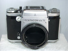 Pentacon Six TL Medium Format Camera Body Only with Case - FAULTS