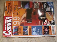 $$ Revue Homme & Camion N°14 Volvo  Iveco  Volvo FH 12  Bruxelles 99  Scania