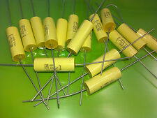 [20 pcs] ROEDERSTEIN MKC1860 0.33uF 400V Film Foil Polycarbonate Axial Capacitor