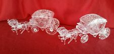 2 CINDERELLA COACH CARRIAGE WEDDING FAVORS TABLE DECORATIONS Christmas Ornaments