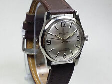 VINTAGE HENRI-SANDOZ 17 JEWELS HAND-WIND SWISS MOVEMENT MEN'S DIAL WRIST WATCH