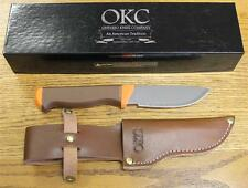 NEW Ontario Knife Company 7534 Cayuga Hunter Fixed Blade Knife & Leather Sheath