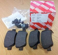 Genuine Toyota Rear Brake Disc Pad Pads Full Set 4x 04466-05041 Avensis New T27