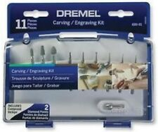 Dremel 689-01 11 Piece Carving and Engraving Mini Accessory Kit