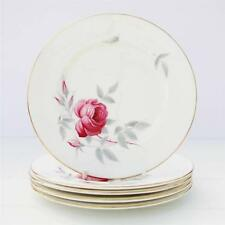Royal Albert Charmaine Set 5 Tea Plates Bone China Floral Vintage