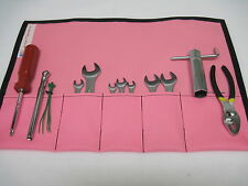 ATV / UTV / Quad / Snowmobile / Motorcycle Pink Tough Duck Tool Pouch Tool Roll