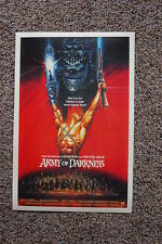 Army of Darkness #2 Lobby Card Movie Poster Red