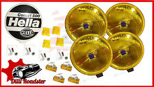 4 x HELLA COMET 500 YELLOW 12V H3 DRIVING LAMP DEAL FOR JEEP