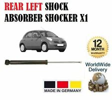 FOR NISSAN MICRA 1.0 1.2 1.4 1.5DCi 2003-ON REAR LEFT SHOCK ABSORBER SHOCKER X1