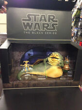 "Star Wars Black Series 6"" Exclusive SDCC 2014 Jabba The Hutt & Salacious Crumb"