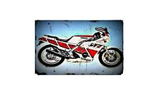 1986 fz600 Bike Motorcycle A4 Photo Poster