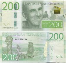 Sweden 200 Kronor 2015 (2014) UNC P-New, new series and design!