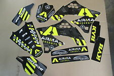 FLU ARMA TEAM  KAWASAKI GRAPHICS & BACKGROUNDS KX450F KXF450  2009 2010 2011