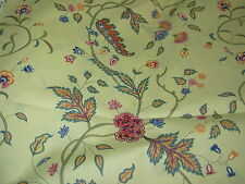 """~10 YDS~BRUNSCHWIG&FILS~""""SONG OF INDIA""""FLORAL~COTTON UPHOLSTERY FABRIC FOR LESS~"""