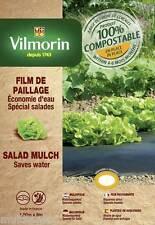 Film de paillage spécial salades - 1,50m x 8 m - 20 µm potager jardin eau