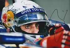 Sebastien Buemi SIGNED Autograph Toro Rosso Driver 12x8 Photo AFTAL COA F1
