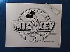 "Original Press Promo Photo - 10""x8"" - Mickey Mouse - 1988 - 60 Years Image"