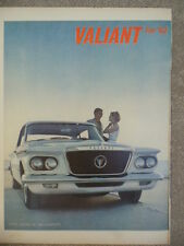 VINTAGE 1962 PLYMOUTH VALIANT AD-NOT A REPRODUCTION