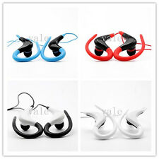 3.5mm Sport Running Jogging Stereo Hook Earphone W/ Mic Headset for Cell Phone