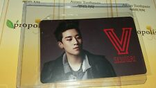 Big bang seungri v solo OFFICIAL  Photocard  Kpop K-pop