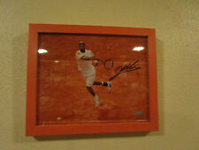 James Blake Signed & Framed  Red Clay In Air  8x10 Steiner