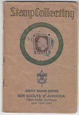 Boy Scouts of America Merit Badge Series STAMPS COLLECTING SCARCE