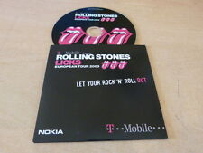 THE Rolling Stones - Let Your Rock 'N' Roll Out-  Holland Import CD Single LTD!!
