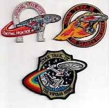 Star Trek Movie Logo  Patch- Lincoln Ent- Set of 3  FREE S&H (STPAL-096)