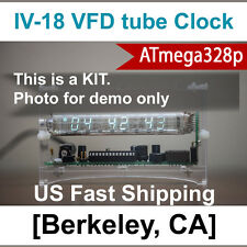 Upgraded to ATmega328p [Ice Tube Clock kit] IV-18 VFD Summer Project