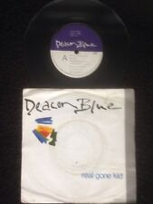 "Deacon Blue - Real Gone Kid / Little Lincoln 7"" Vinyl Pic Sleeve CBS DEAC 7 1988"