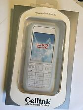 Nokia E52 Silicon Case in White SCC4446. Brand New & Sealed in the Original pack