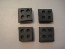 "Isolation Pads, anti vibration pads 2""x2""x3/4"" all rubber. Qty.4 each"