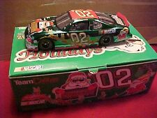 2002 HOLIDAY 1/24 GREEN CHROME TEAM CALIBER OWNERS CAR